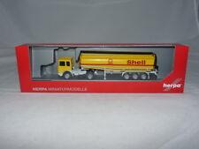 herpa 309271 MAN F8 Benzintank-Sattelzug - Shell 1:87 NEU + OVP