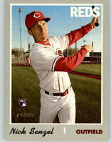 (10) 2019 Topps Heritage High Number NICK SENZEL 10-Card Lot Reds RC #507