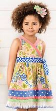 NWT Matilda Jane The Adventure Begins May Day Dress Girls Size 8 NEW