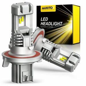 200W Mini H13 9008 Hi/Low Beam 6500K LED Headlight Bulbs 24000LM KIT 1:1 Halogen