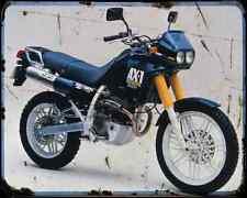 Honda Ax 1 87 A4 Metal Sign Motorbike Vintage Aged