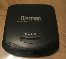 Sony D-141 Discman CD Compact Portable Disc Player Mega Bass Tested, Works