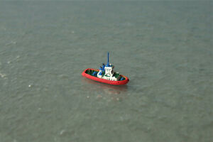 Dutch Tug VS ROTTERDAM by Intug 1:1250 Waterline Ship Model
