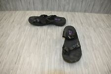**Skechers Reggae Caribbean 41007 Sandals, Women's Size 9, Black