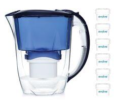 Aqua Optima Jarra de Filtro de agua Oria Paquete Anual de 12 Meses 6 Filtros