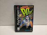 PO'ed (Sony PlayStation 1) PS1 Longbox Complete with Manual & Registration Card
