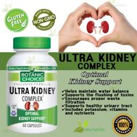 ULTRA KIDNEY COMPLEX Toxin Removal Detox Urinary Tract Cleanse Supplement 60Caps