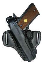 """Holster Ruger SR1911 5"""" Barrel Black Leather Retention Tagua Left Hand BH1-201"""