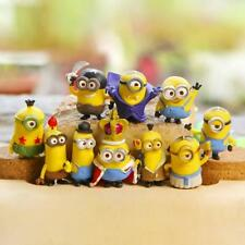Lot 10 Figurines Minions Moi moi et méchant despicable me mignon 4 cm