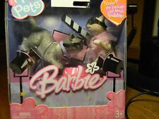 NEW IN BOX 2005 BARBIE I LOVE PETS BOBBLE HEAD Lights,Glamour,Camera CATS, 3+