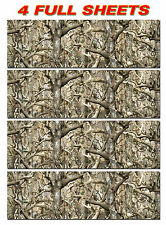 4 GLOSS CAMO DECAL MADE FROM 3M WRAP VINYL TRUCK CAMO TREE PRINT BUCK CAMOUFLAGE