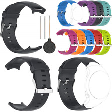 Band For Garmin Approach S3 Soft Silicone Replacement Watch Strap GPS Golf Black