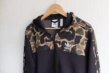 Adidas Originals Trefoil Camo/Camouflage jacket | S| Brown green Black