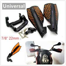 "1 Pair Motorcycle E-bike Handlebar Wind Deflector Protector Handguard 22 mm 7/8"""