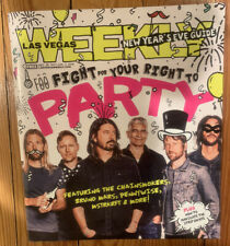 New listing Foo Fighters Las Vegas Nye New Years Eve 2017 2018 Magazine Cosmo Dave Grohl