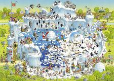 NEW! Heye Funky Zoo Polar Habitat 1000 piece comic cartoon jigsaw puzzle 29692