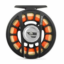 NEW ORVIS HYDROS II FLY REEL IN BLACK FOR 3, 4 OR 5 WT ROD - FREE US SHIP