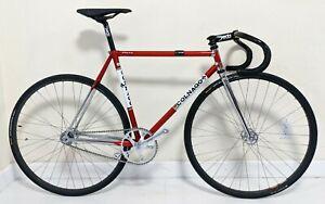 Rare Colnago Master Pista Saronni 53cm X 50cm Campagnolo Record Pista Track Bike