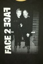 Billy Joel and Elton John 2002 Concert Tour Face To Face - Shirt Adult size Xl