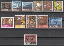 Zambia / Sambia Nr. 39-50** Freimarken