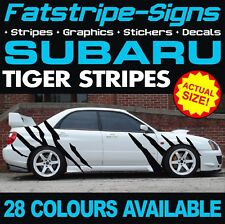 SUBARU IMPREZA TIGER STRIPES GRAPHICS STICKERS DECALS WRC WRX STI ESTATE TURBO