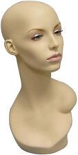 Mannequin Head Bust Wig Hat Jewelry Display #EvenlyHD