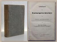 Karl Emil Kluge Lehrbuch der Naturgeschichte 1857 Mineralogie Botanik Zoologie