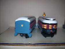 2 Lionel Polar Express Rail Cars Hobo Car & Passenger Car 7-11803