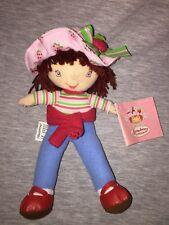 "Kellytoy Strawberry Shortcake Beanie Plush Doll With Tags 8"" 2004 Tag"