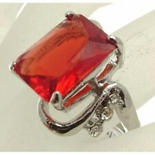 Fashion Jewellery Ring Statement Ring plastic gem S or 19.25 - CR35