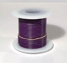 24 AWG UL1007 UL1569 VIOLET Hook-up Wire 100 foot spools ~ 10 Colors Available!
