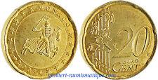 MONACO  ,  20  CENT  EURO  2003   ,      FLEUR  DE  COIN