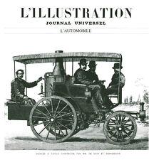 Publicité Ancienne  Automobile   Voiture à Vapeur Construite par   P.26
