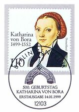 BRD 1999: Katharina von Bora Nr. 2029 mit Berliner Ersttagsstempel! 1A! 1711