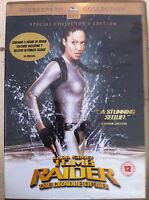 ANGELINA JOLIE GERARD BUTLER Lara Croft: Tomb Raider CUNA DE LA VIDA - GB