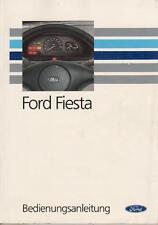 FORD FIESTA 3 GFJ manuale di istruzioni bordo 1993 libro manuale BA