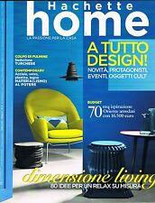 HACHETTE HOME - N.4 - APR.'11 - RELAX SU MISURA - DESIGN - TURCHESE - MATERIALI