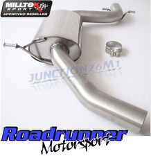 """Milltek Golf GTI MK5 & Edition 30 Exhaust 2.75"""" Resonated Centre Section MSVW263"""