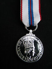 BRITISH ARMY,RAF,RN,RM - Queen's Silver Jubilee 1977 Miniature Mess Dress Medal