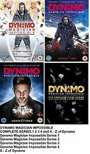 DYNAMO MAGICIAN IMPOSSIBLE COMPLETE SERIES COLLECTION 1 2 3 4 DVD MAGIC New UK