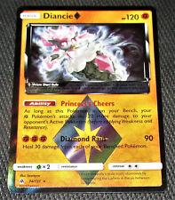 Diancie Prism 74/131 SM Forbidden Light Set HOLO Rare Pokemon Card NEAR MINT