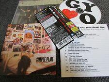 SIMPLE PLAN / get your heart on /JAPAN LTD CD OBI