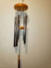 "American Spirit Respect for the Earth Wind Chimes 18"" H with 5 Tubes NEW"