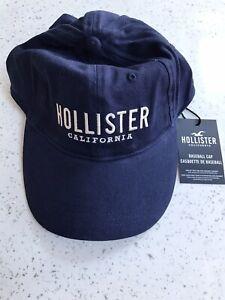 BRAND NEW HOLLISTER BLUE BASEBALL CAP