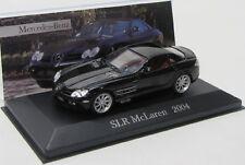 MERCEDES Benz slr McLaren (2004) Noir/IXO 1:43