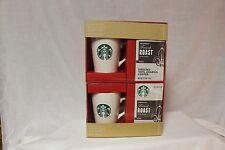 Set of 2 Starbucks Coffee Mug 16fl oz Mermaid Logo gift set -French Roast Coffee