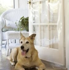 Pet Door Shield Clear Plastic Adhesive Cover Protector for Scratch Protection