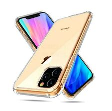 AntiScratch Shockproof Clear Bumber Gel Case For Apple iPhone XI Max 2019 6.5""