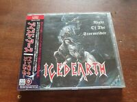 Iced Earth Night of the Stormrider CD JAPANESE VERSION WITH OBI