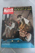 Paris Match n°531 - 1959 - Anouilh - Brigitte Bardot - Picasso Vauvenargues